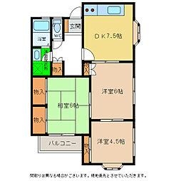 スリーブ1号館[2階]の間取り