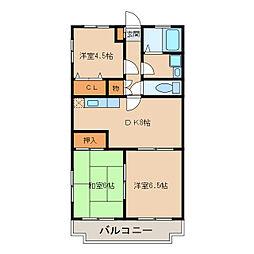 PADOLE2002[2階]の間取り