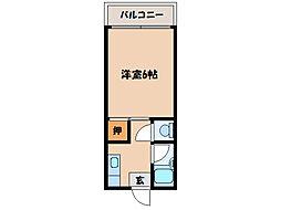 第三プリンスマンション[3階]の間取り