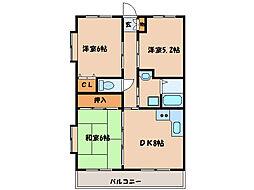 潮彩マンション東棟[1階]の間取り