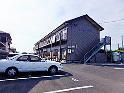 かりんハイツII[1階]の外観
