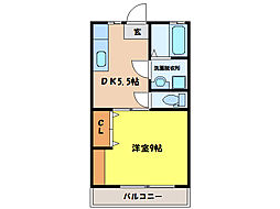 D−HOUSEII[1階]の間取り