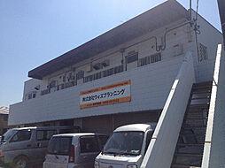 埼玉県東松山市大字下野本の賃貸アパートの外観