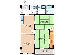 寿第3ビル[1階]の間取り