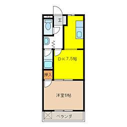 アーバンハウスTAKADA[2階]の間取り