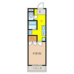 ガーデンプレイスSK[2階]の間取り