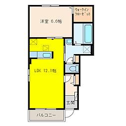 ソアレ[1階]の間取り