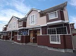 岐阜県岐阜市粟野東5の賃貸アパートの外観
