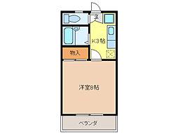 第5ハイツタマキ[202号室]の間取り