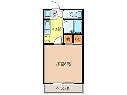 第5ハイツタマキ[106号室]の間取り