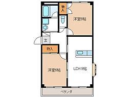 クレールICHIKAWA[1階]の間取り