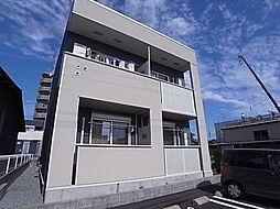 岐阜県岐阜市西島町の賃貸アパートの外観