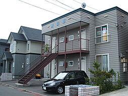 北海道函館市昭和町の賃貸アパートの外観