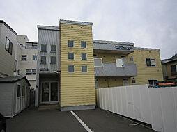 北海道函館市弁天町の賃貸アパートの外観