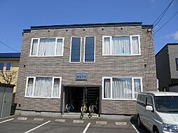 北海道函館市宇賀浦町の賃貸アパートの外観