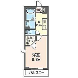 JR内房線 五井駅 バス12分 青柳橋下車 徒歩2分の賃貸マンション 2階1Kの間取り