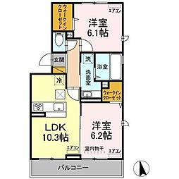 京成千原線 ちはら台駅 徒歩37分の賃貸アパート