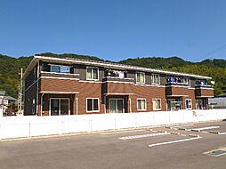 徳島県徳島市大原町糠坪の賃貸アパートの外観
