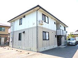徳島県徳島市八万町夷山の賃貸アパートの外観