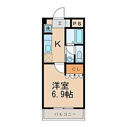 プランドール(梅原)[2階]の間取り