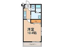 フジパレス城北VI番館[1階]の間取り