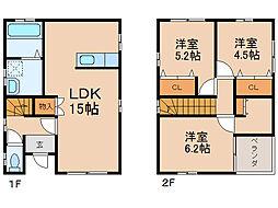 [一戸建] 和歌山県和歌山市北 の賃貸【/】の間取り