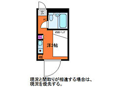 レジデンシャル西堀 E1007号[10階]の間取り