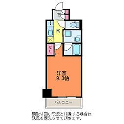 GEO本町通7番町[6階]の間取り