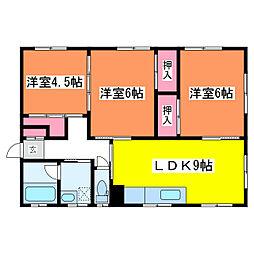 女池6丁目住戸[2階]の間取り