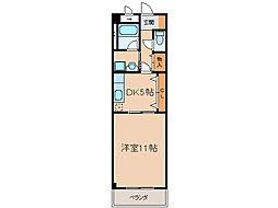 ドリームサポート岩崎[305号室]の間取り