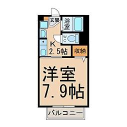 タウンコート[2階]の間取り