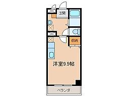 第3さくらマンション[6階]の間取り