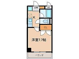 第2さくらマンション[806号室]の間取り