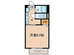 JIII[2階]の間取り