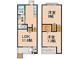 SKIP SKIP 21[106号室]の間取り