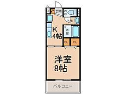 サンボナール A・B棟[1階]の間取り