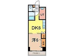 ビッグバーンズマンション[8階]の間取り
