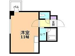 旭川2.3ビル[4階]の間取り