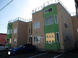 北海道旭川市永山三条3丁目の賃貸アパートの外観