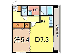 エンドレス55[6階]の間取り