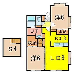 MSクレーン[1階]の間取り