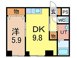 エンドレス17 B棟[2階]の間取り