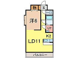 ノルテ3条通[5階]の間取り