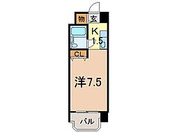 メゾン・ド・ノール[8階]の間取り
