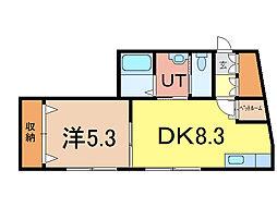コムハウス[2階]の間取り