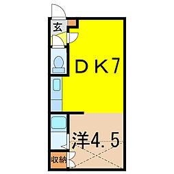 エスパニア2[2階]の間取り