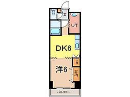 ビッグバーンズマンション[7階]の間取り