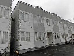 ロワールB[1階]の外観