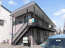 北海道旭川市一条通17丁目の賃貸アパートの外観