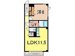街区117[2階]の間取り